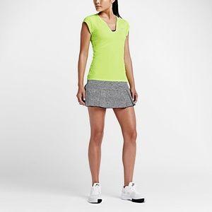 Nike Womens Victory Printed Skirt - Black/White